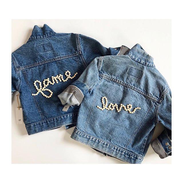 kids нand вeaded vιnтage denιм #love #ғaмe ... @yoyanyc . . . . . . . #sidnyc #embroidery #yoyanyc #handmade #vintagedenim #kidsdenim #handbeaded #denim #oneofakind #handembroidery #levis #kidsfashion #kidsstyle #ootd #ministyle #minifashion #custom #love #kids