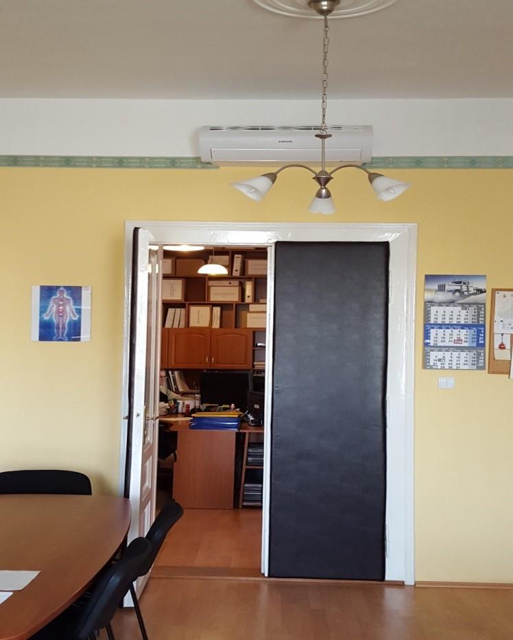 Felújított világítás, split hűtő-fűtők