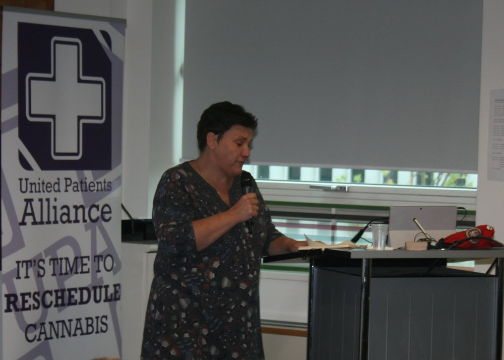 Tonia Antoniazzi MP for Gower  UPA Medical Cannabis Conference - Birmingham - September 30th 2017