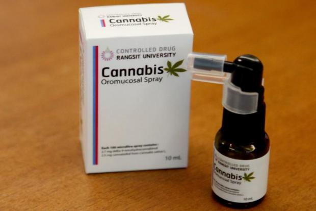 A prototype of the marijuana-based spray - Very similar in constitution to GW Pharmaceutical's Sativex