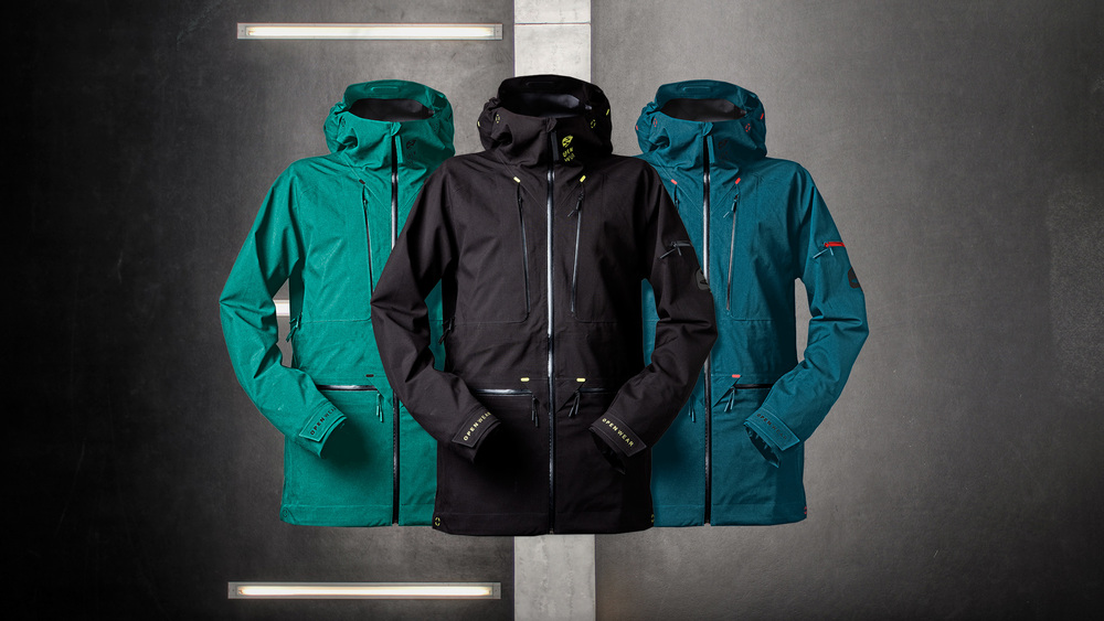The Open One: Available in three colours (Green, Black and Blue)