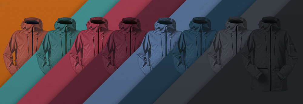 Note: The jackets displayed are only for the purpose of showing the colours, these are not our final new designs :)