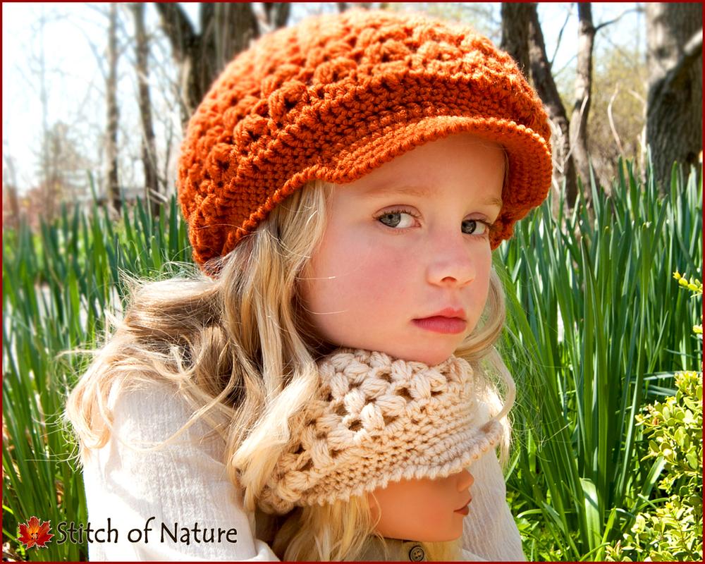 Madison Scally Cap, Newsboy Hat (16005)