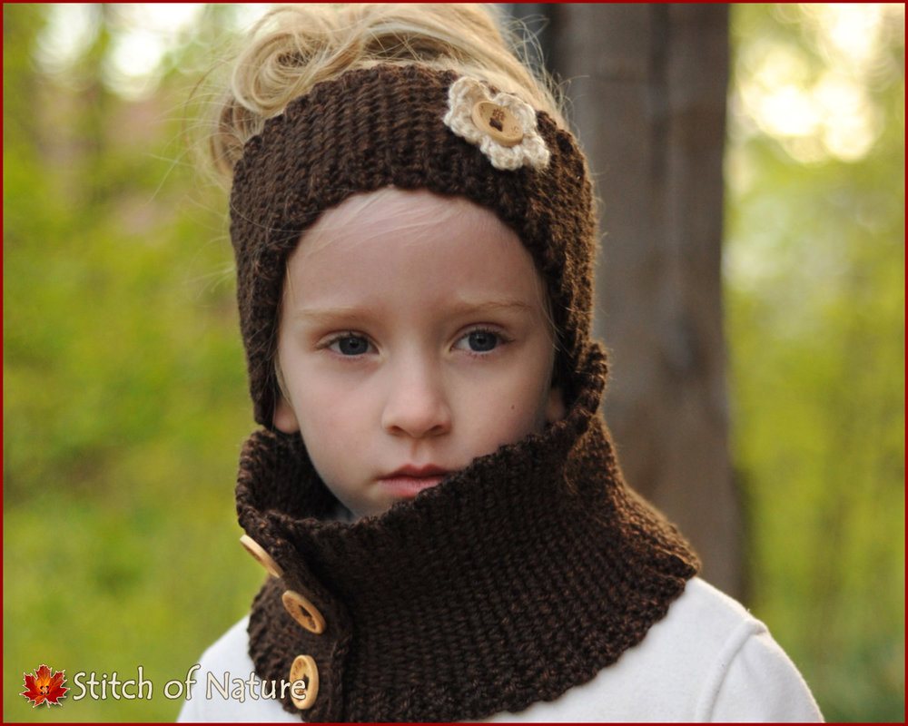 The Glendale Headband and Cowl Set (16050)