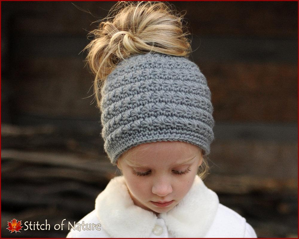 Odessa Messy Bun Hat (16047)