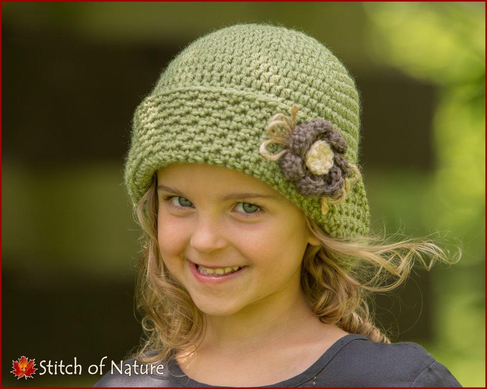Peoria Vintage Cloche Hat (16060)