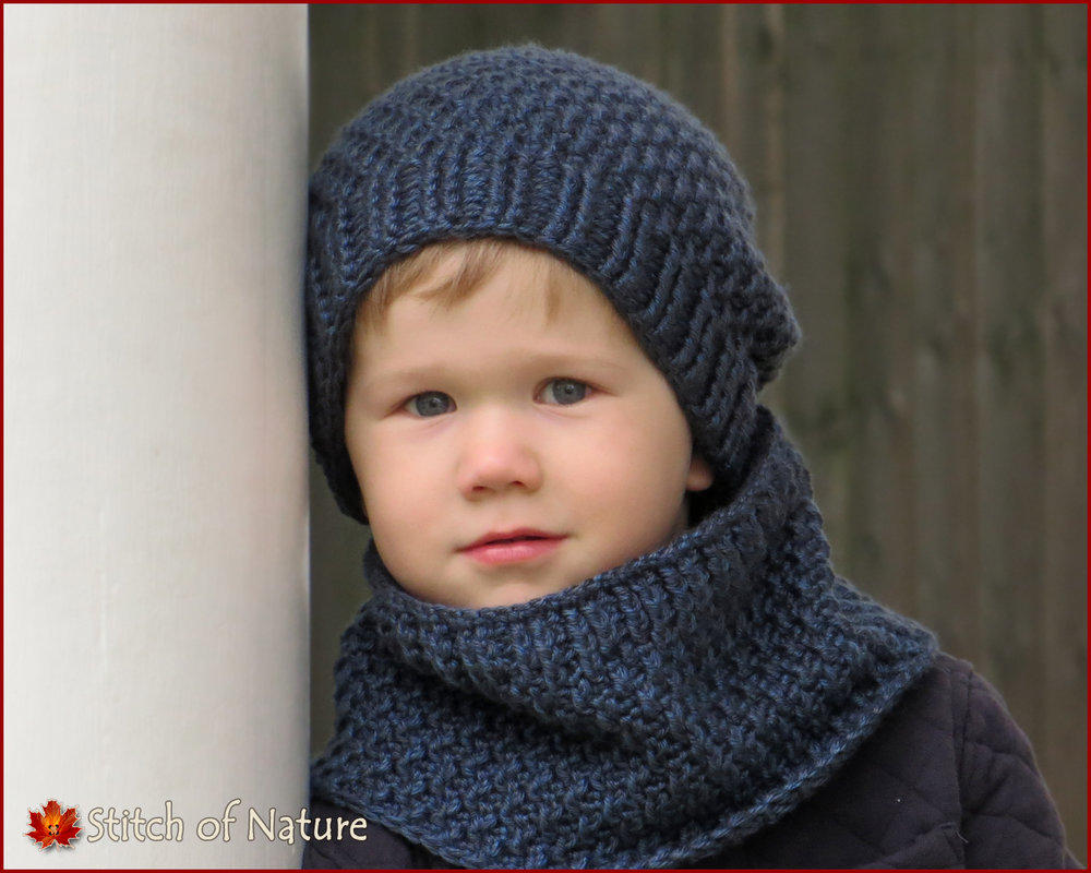 Portland Slouchy Hat and Cowl (16062)