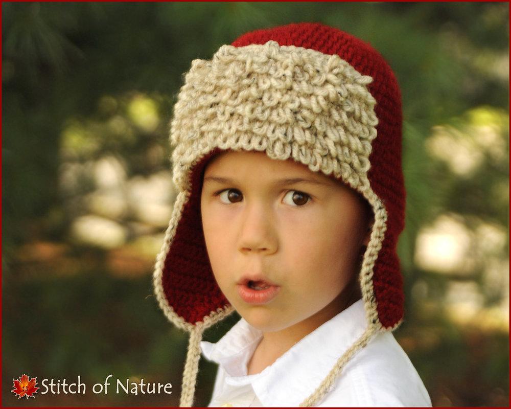 Red Baron Aviator Hat (16067)