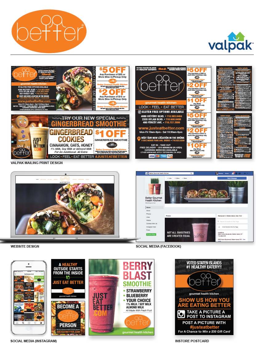 Better Gourmet Health Kitchen - Powered by Valpak