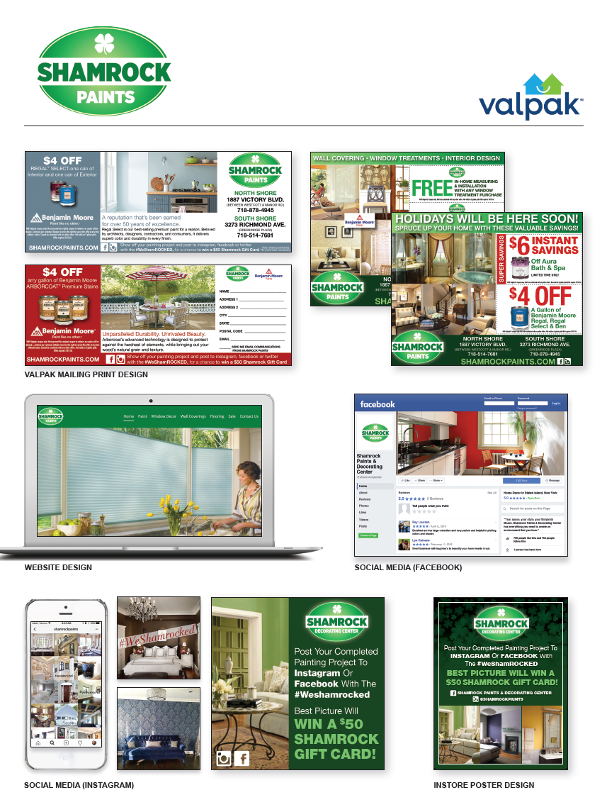 Shamrock Paints - Powered by Valpak