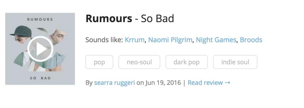 rumours-indieshuffle