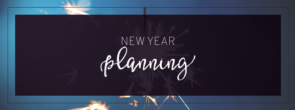 New Year Planning Header