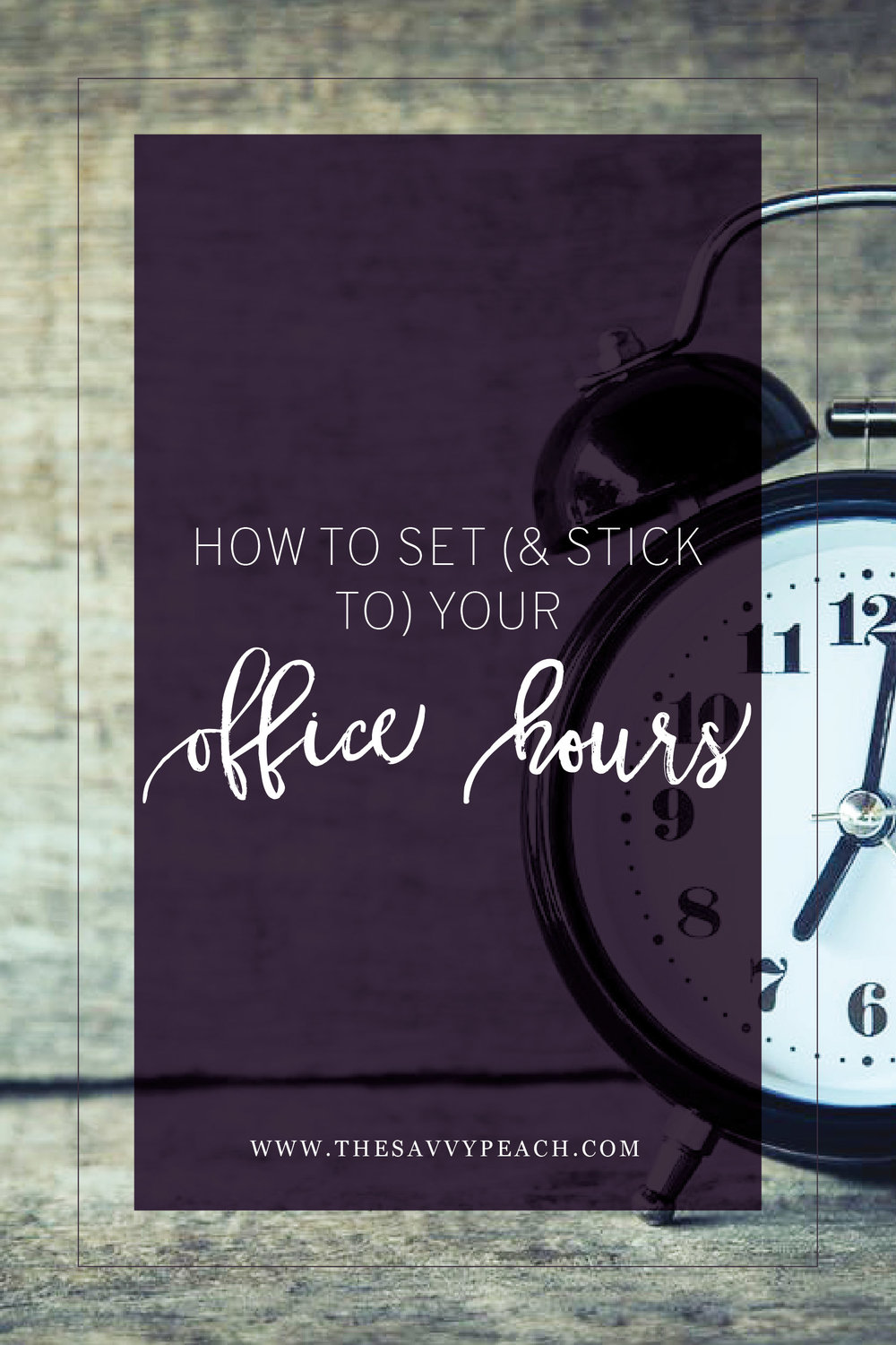 Setting office hours blog graphic
