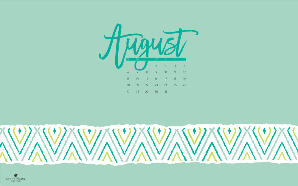 August Desktop Wallpaper