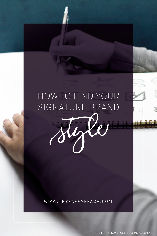 Signature Brand Style