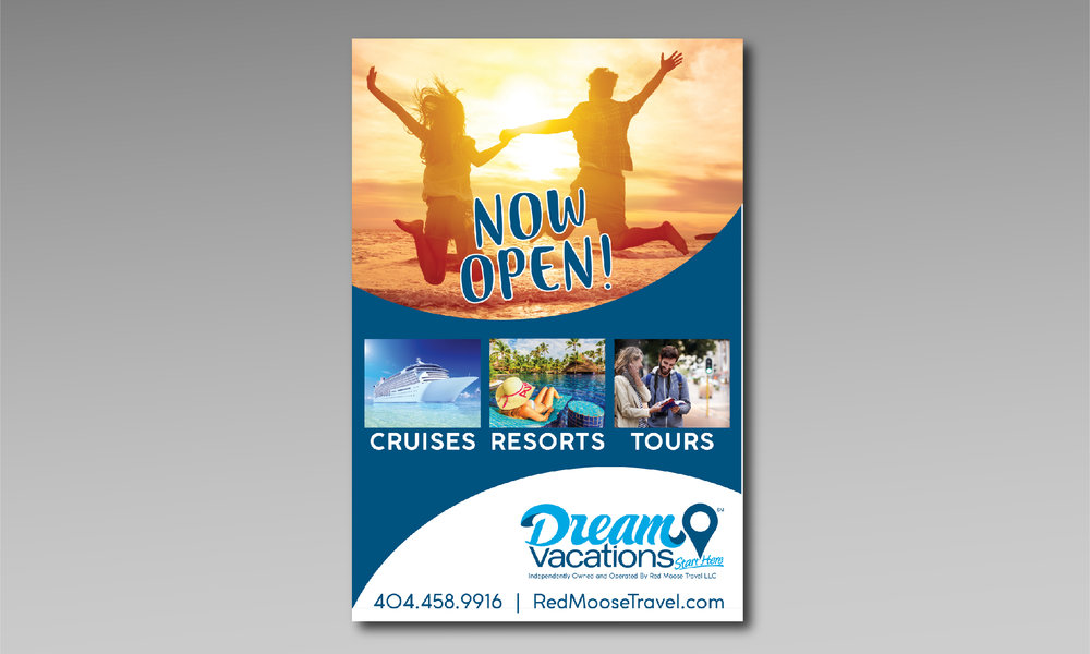 Dream Vacations/Red Moose Travel - Print