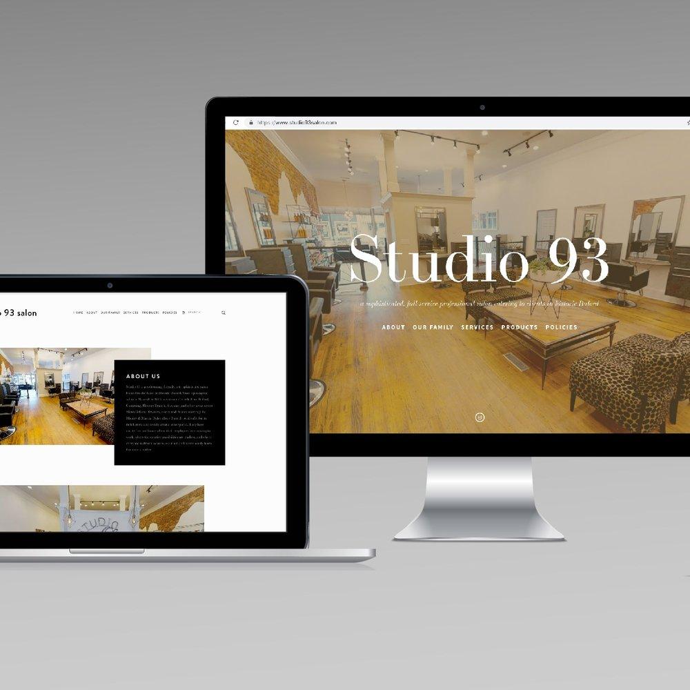 Studio 93 - Web