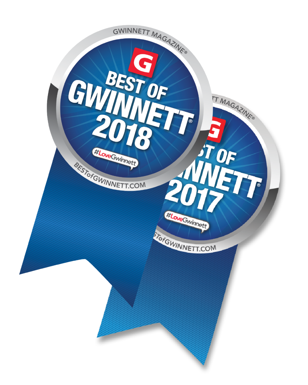 We started a winning streak! - Thank you to all of our dedicated clients and friends who helped by casting your votes! The Savvy Peach has been voted Best of Gwinnett for 2 years in a row - 2017 & 2018!