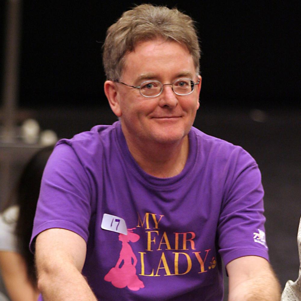 Robert Neild rehearsing for My Fair Lady 2006