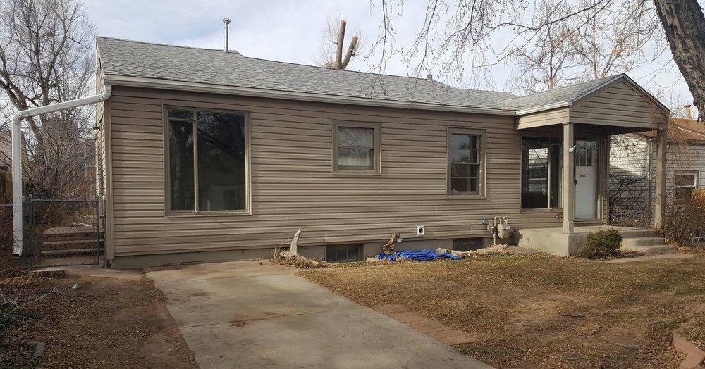 4335 SOUTH GRANT STREET ENGLEWOOD, CO. 80110  2 BEDROOM 1 BATH SINGLE FAMILY HOME  $1,775.00 PLUS ALL SEPARATE UTILITIES  DARK HARDWOOD FLOORS THROUGHOUT HOME. DINING ROOM WITH ACCESS TO BACKYARD. MANY LARGE WINDOWS UPSTAIRS MAKING IT VERY SUNNY! FINISHED BASEMENT WITH TONS OF STORAGE AND LAUNDRY FACILITIES. GREAT SIZED, FENCED IN BACK YARD WITH A STORAGE SHED.  SECURITY DEPOSIT IS EQUAL TO ONE FULL MONTHS RENT. ONE FULL MONTHS RENT IS ALWAYS DUE AT MOVE IN.  PETS ARE POSSIBLE WITH A REFUNDABLE DEPOSIT AND GREAT REFERENCES.