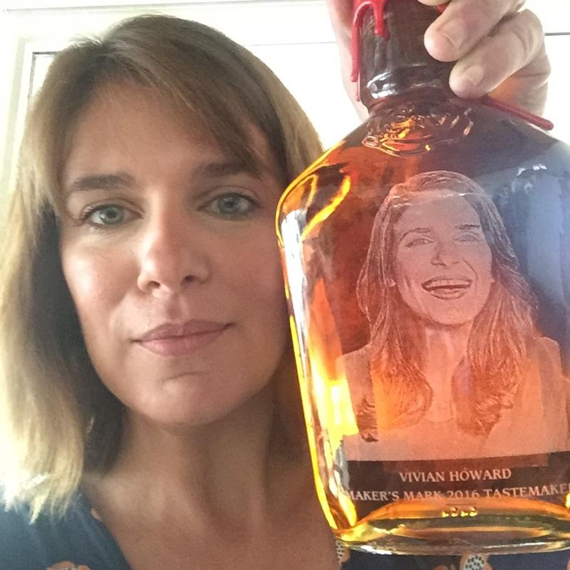 I'm on a bottle of Maker's