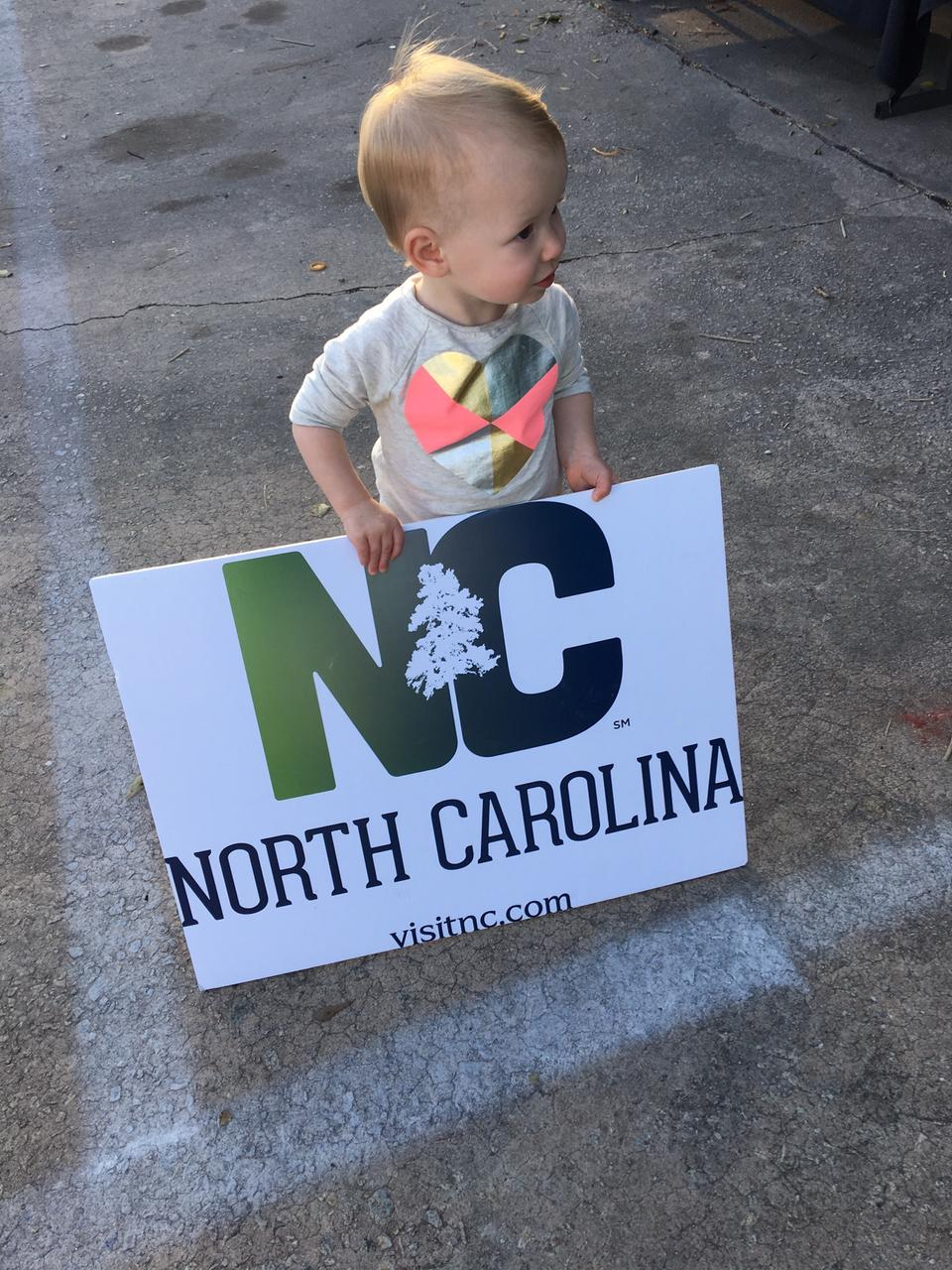Start 'em young - come visit Kinston!