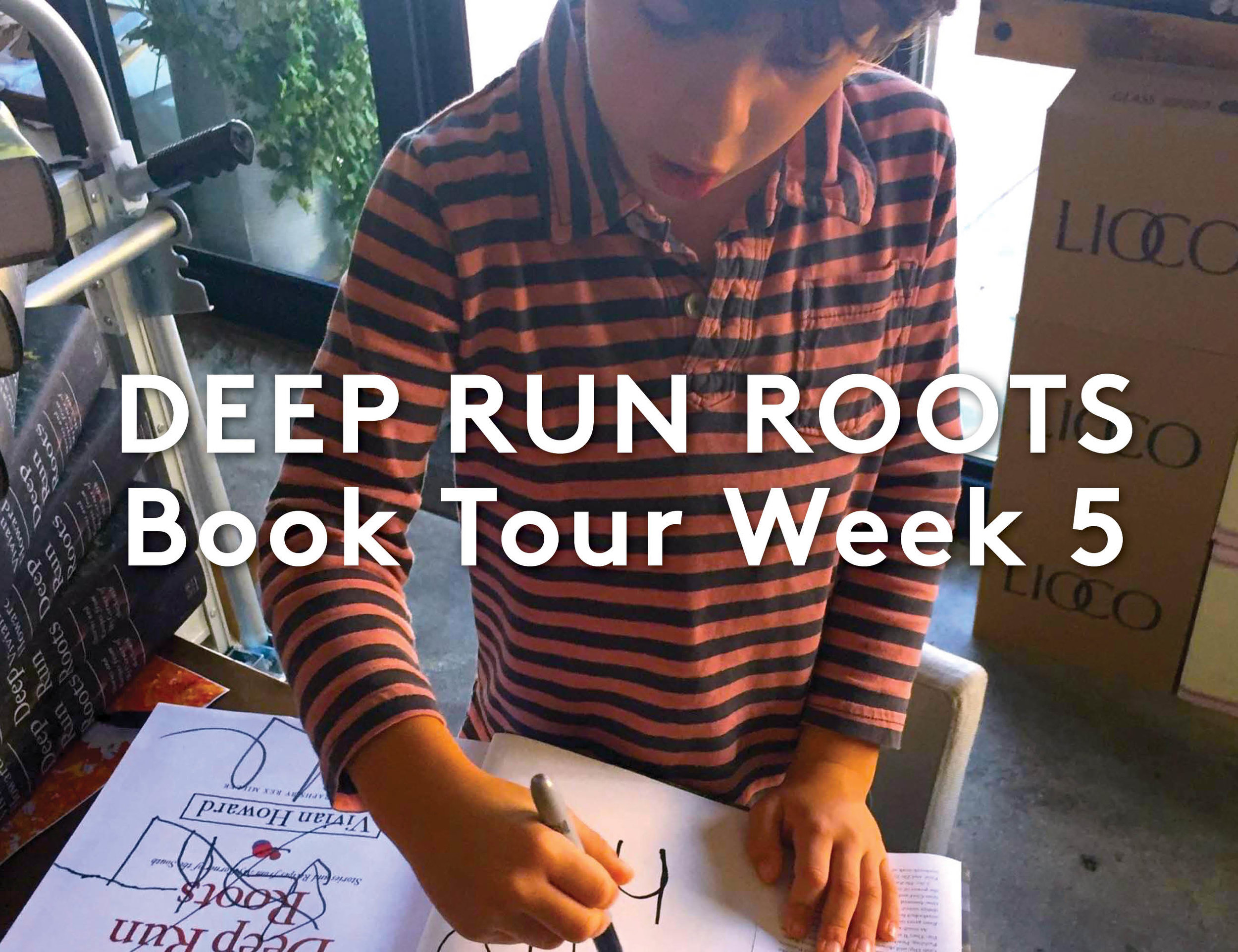 Deep Run Roots Week 5 Pictures