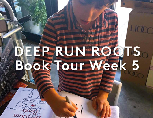 Book Tour | Week 5 in Pictures
