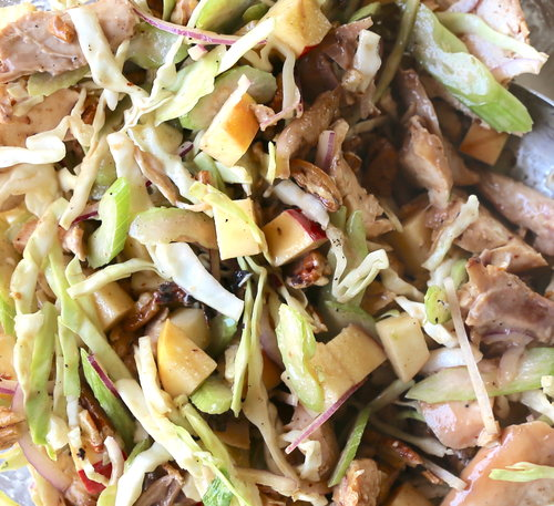 ENC Style BBQ Chicken Salad