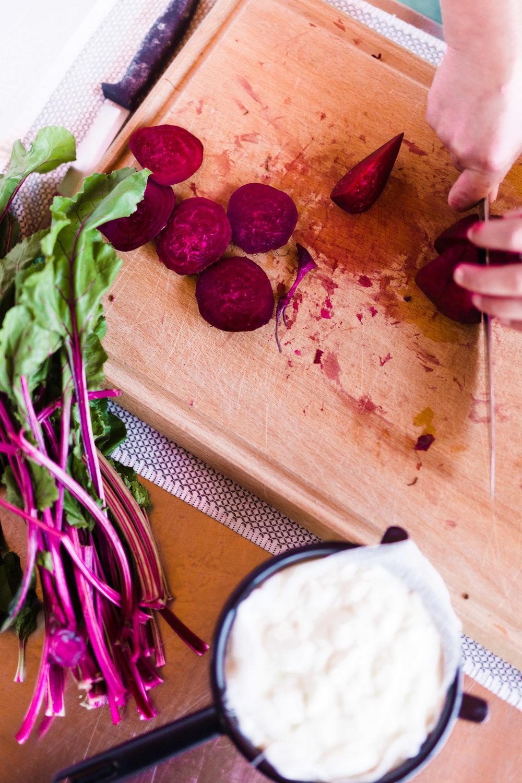 beet kvass vivian howard recipes photograph by baxter miller