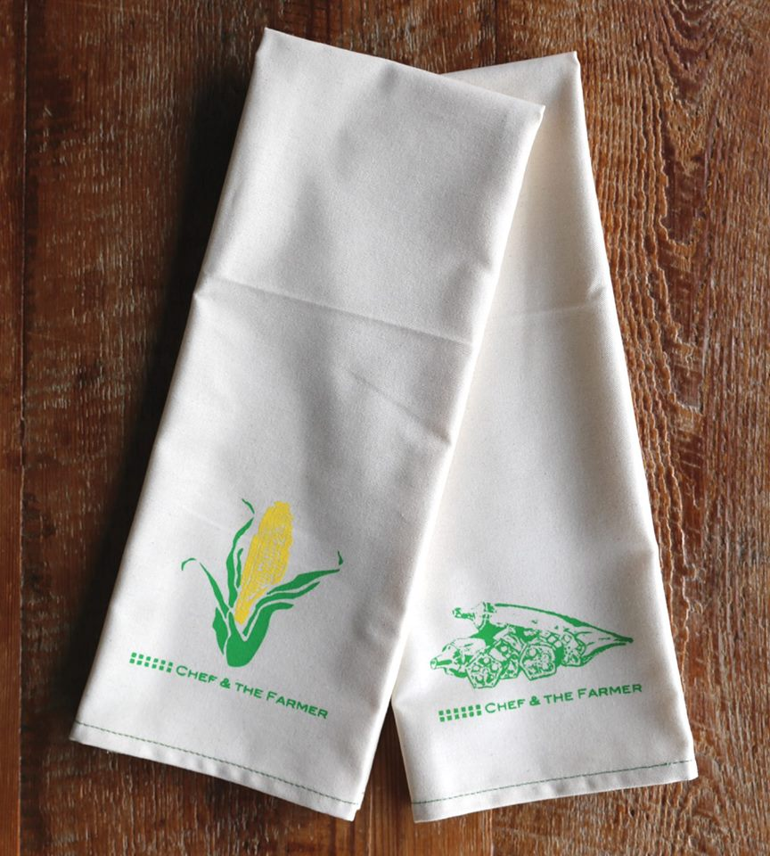 Chef & the Farmer Dish Towel — VivianHoward.com