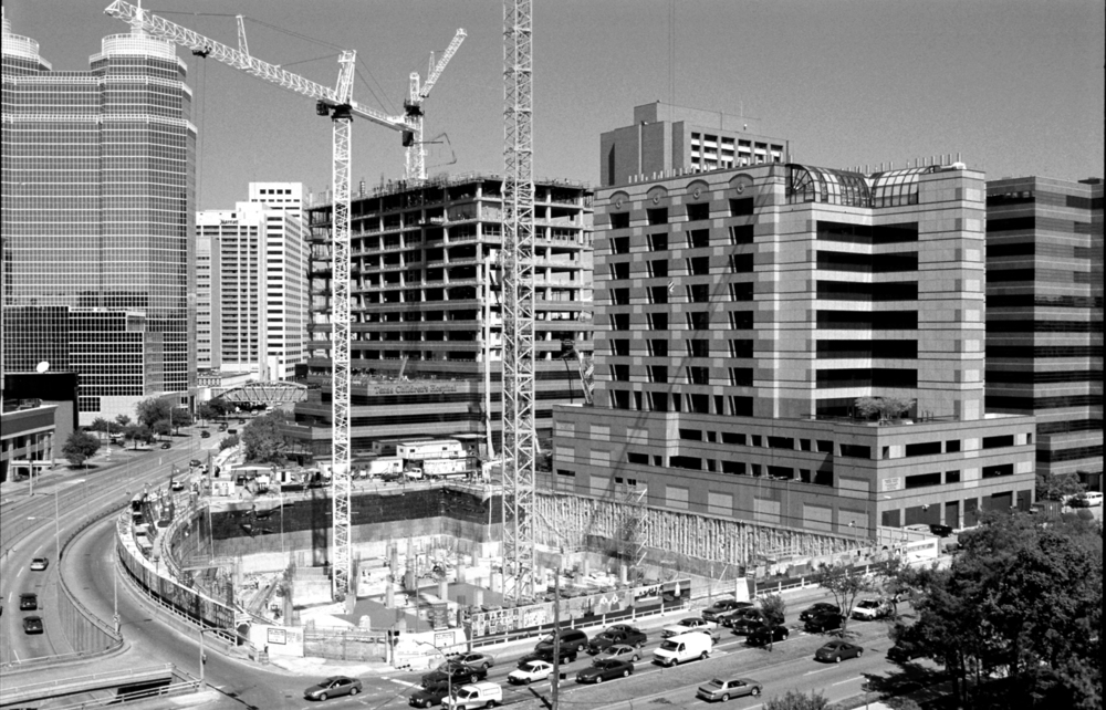 Early construction of the Clinical Care Center in 1999.
