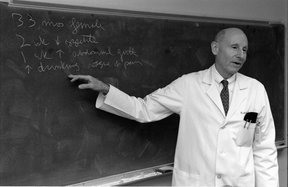 During his 31- year tenure, Texas Children's Physician-in-Chief Dr. Ralph D. Feigin taught and trained hundreds of bright young students and residents who went on to become prominent pediatricians, researchers and physician leaders.