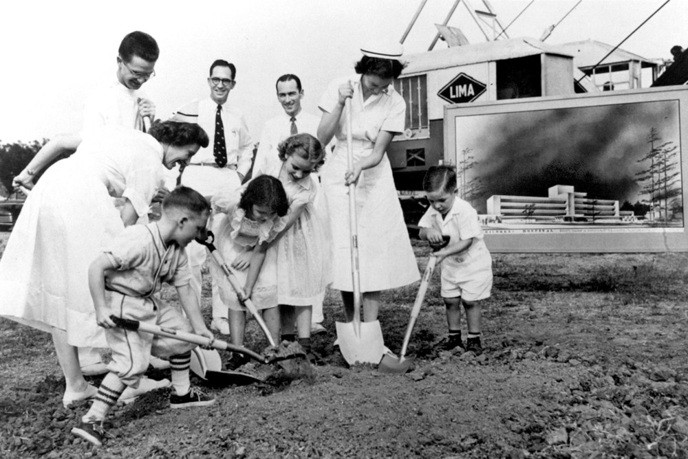 The groundbreaking of Texas Children's Hospital on May 23, 1951, marked the beginning of a new era in pediatric patient care.