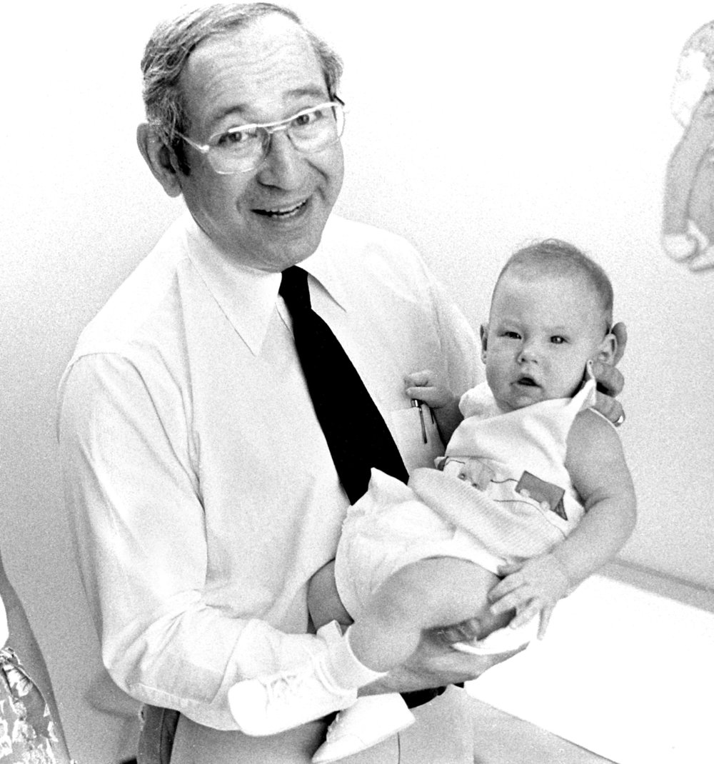 Dr. Jim Harberg was appointed chief of General Surgery Services in 1970.