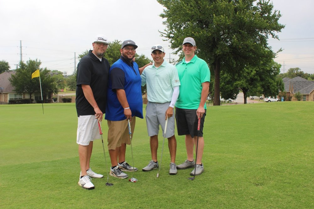 1st place - Global Spheres - Golfers: George Slack, Alex Parker, Brian Lohse, John Mark Pierce