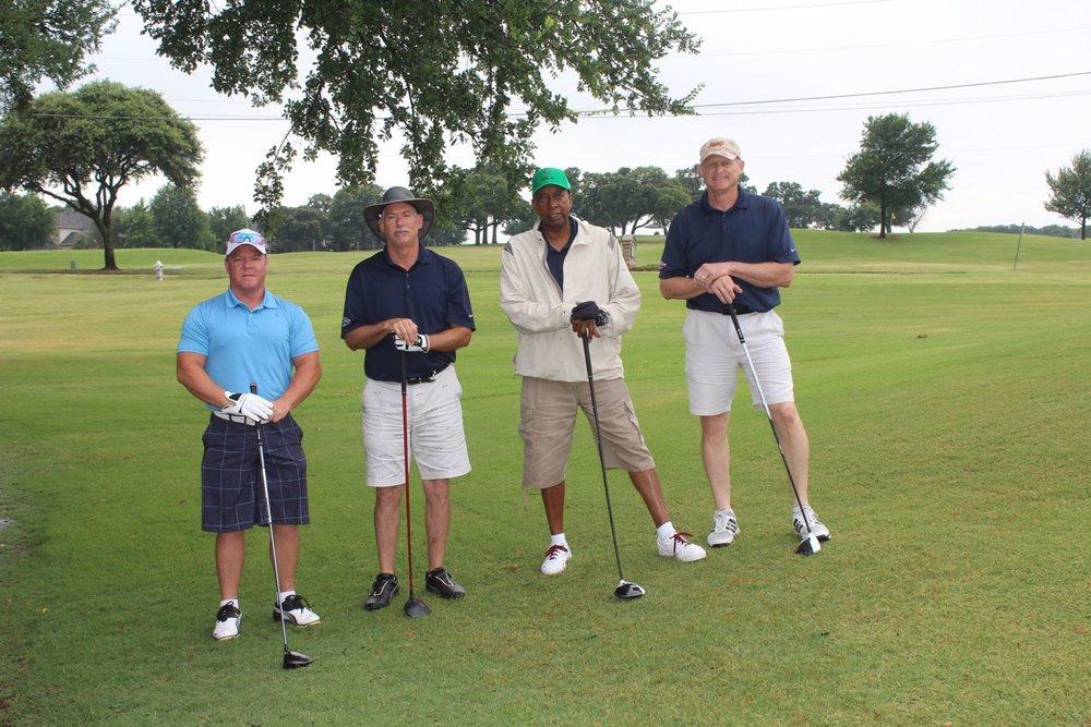 2nd place - Huffines Lewisville - Golfers: Fred Whitfield, Katie Harris, Scott Spiegel, Steve Kloza