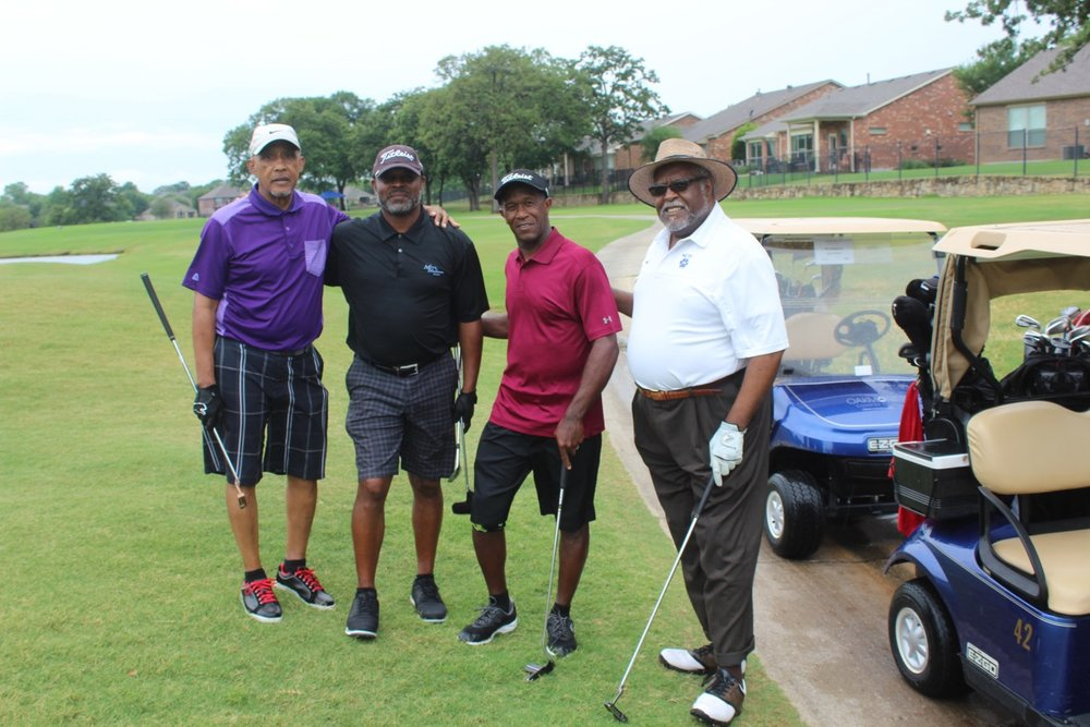 3rd place – NCTC - Golfers: Roy Culberson, Kerry Goree, Reggie Hill, Anthony Blackmon
