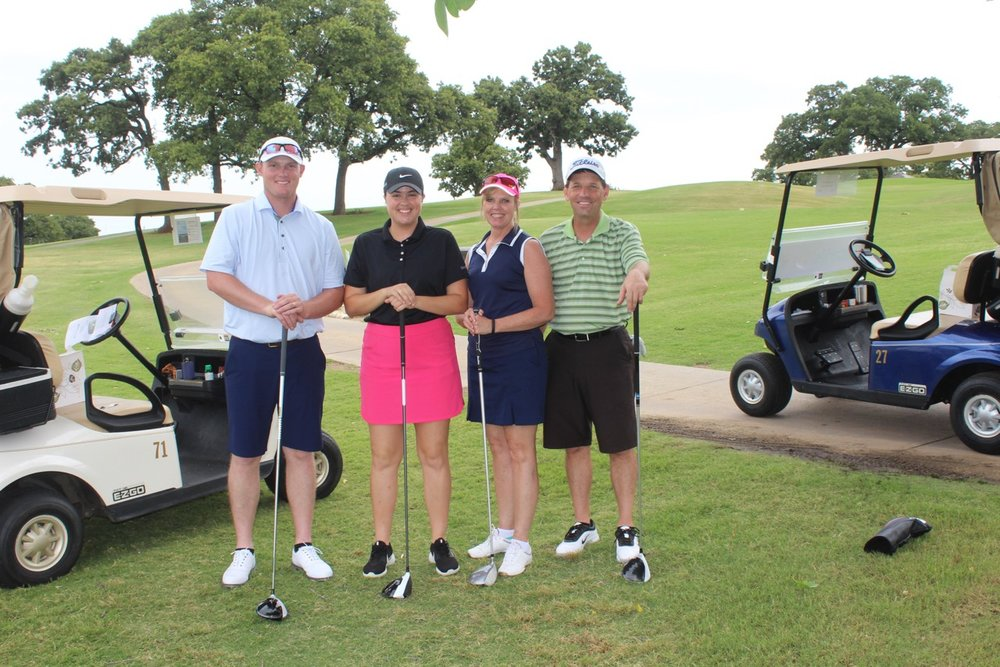 1st place - Malcom Family - Golfers: Rance, Marcie, Konner, and Hannah Malcom