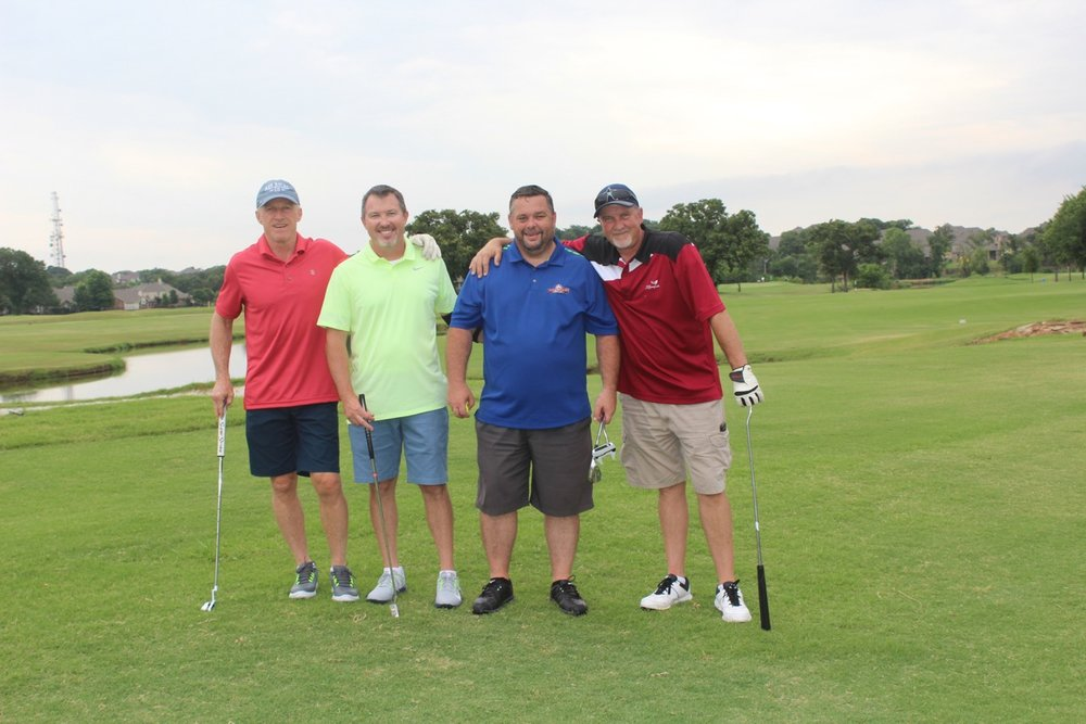 3rd place - Explore USA - Golfers: Chris Schiele, Doug Richards, Mike Marsh, Mark Stewart
