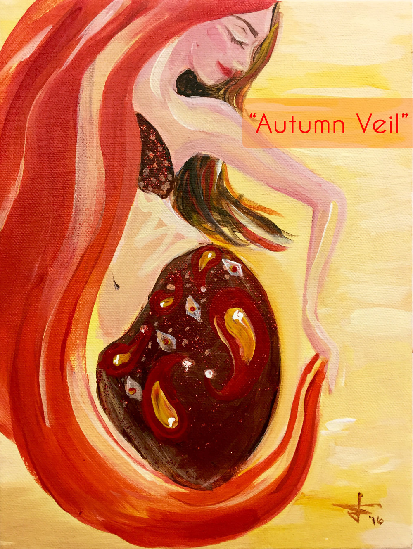 autumn veil painting party