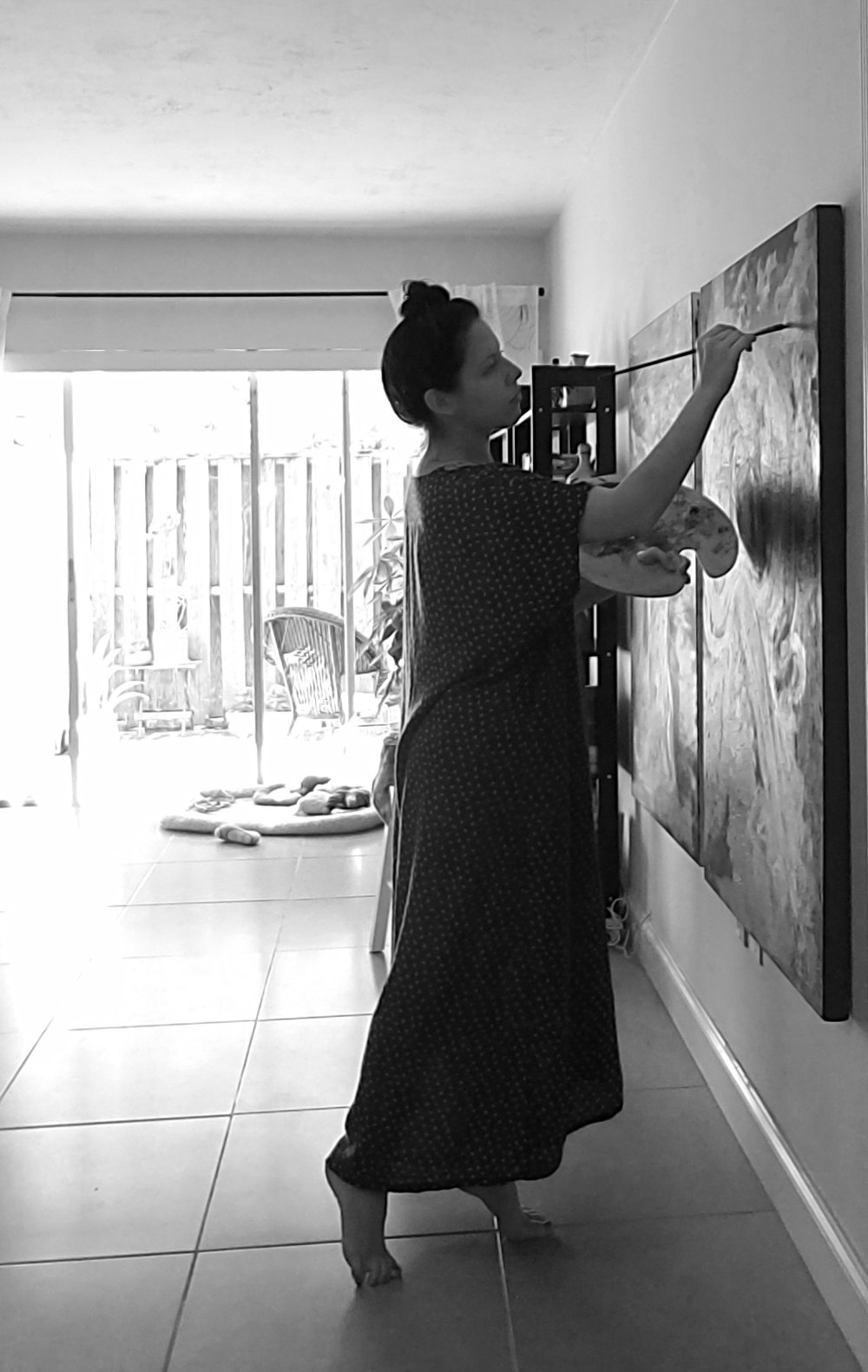painting bw