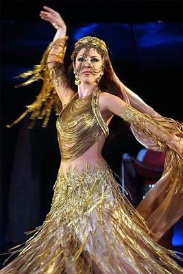 amani lebanese belly dancer