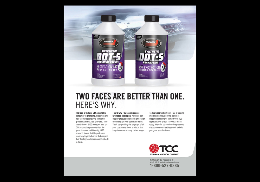 Print Ads for Automotive Products in Texas