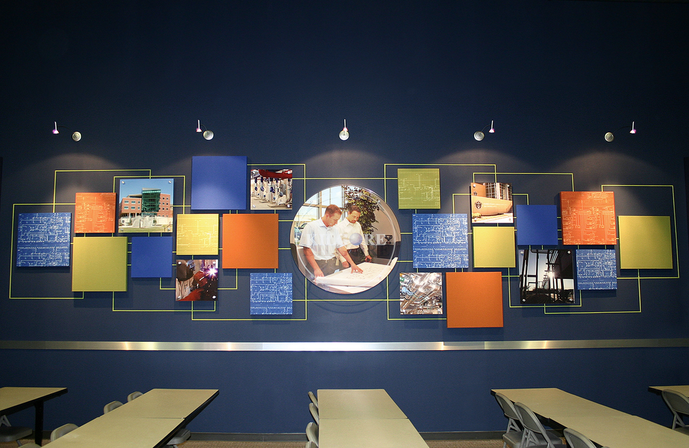 Environmental Display for Corporate Conference Room