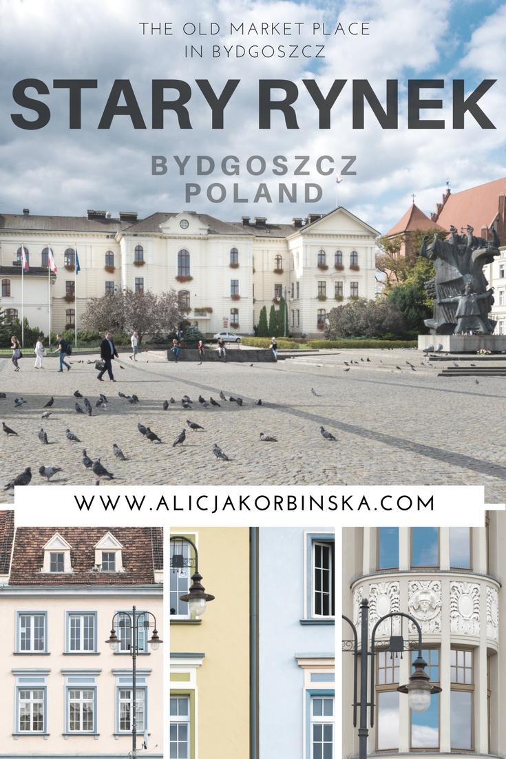 Stary Rynek (The Old Market Place) in Bydgoszcz city, Poland.
