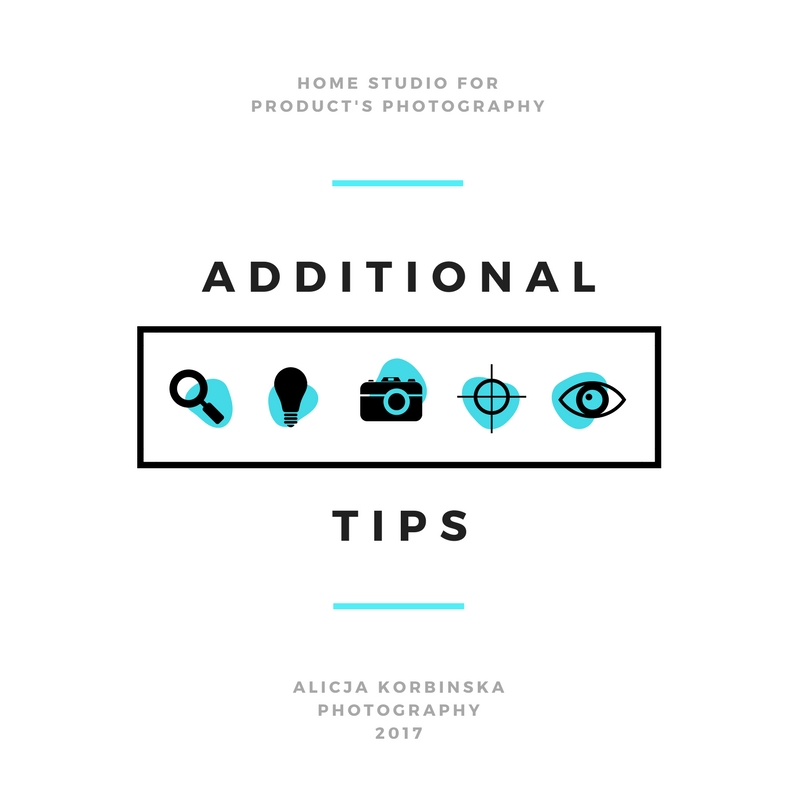 Read this few more tips. They are good to remember while shooting products.