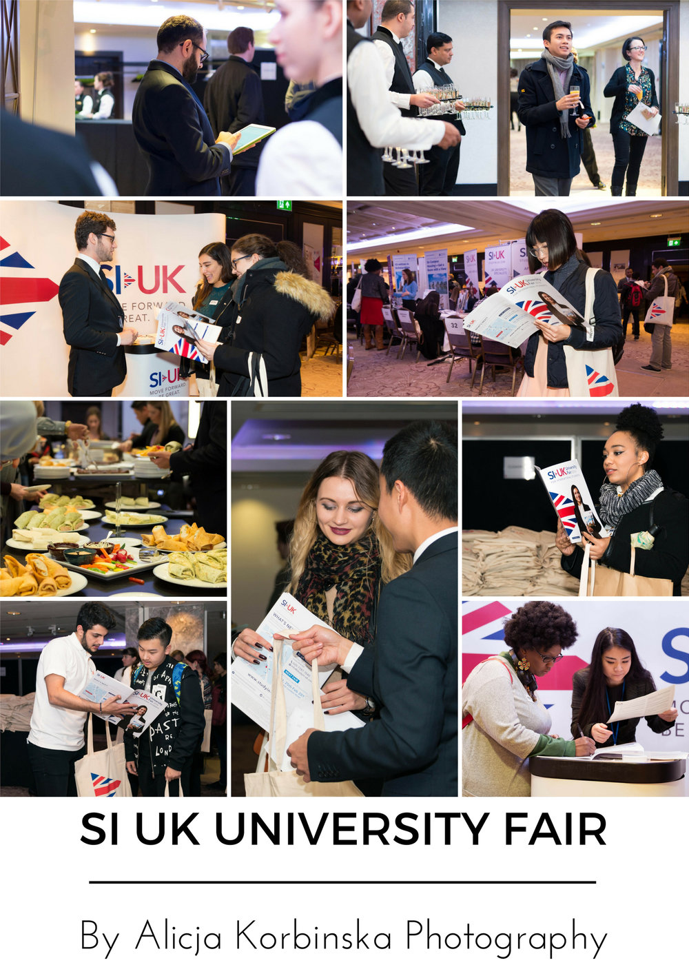 Largest UK's University Fair for international students in London by SI-UK. Consultants, universities and students all hard at work.