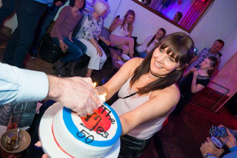 James 50's - Birthday Party