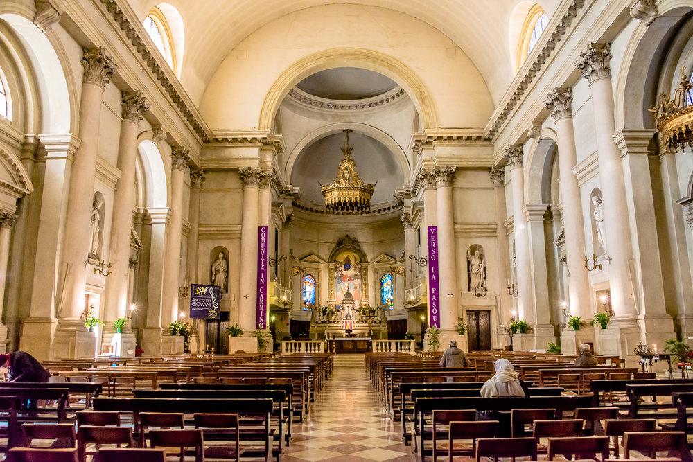 Cittadella Duomo inside